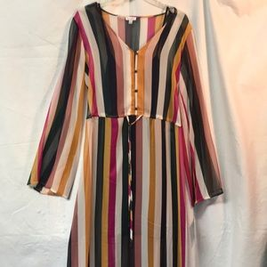 Maxi boho dress New w/tags
